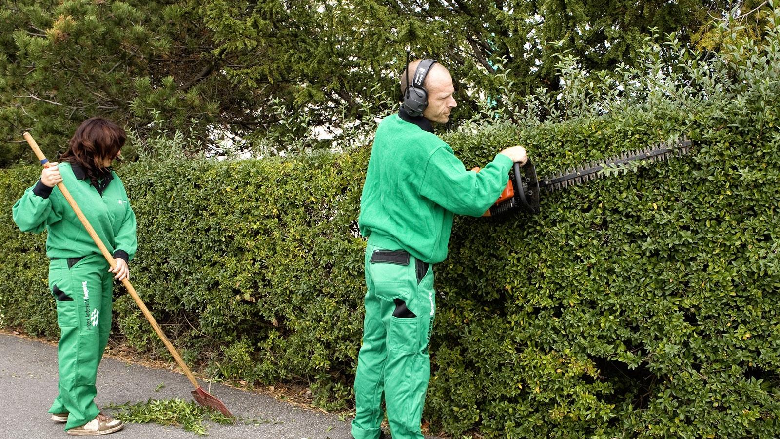 Anders Andersen Rengøring Grøn service og udendørs vedligehold trappevask