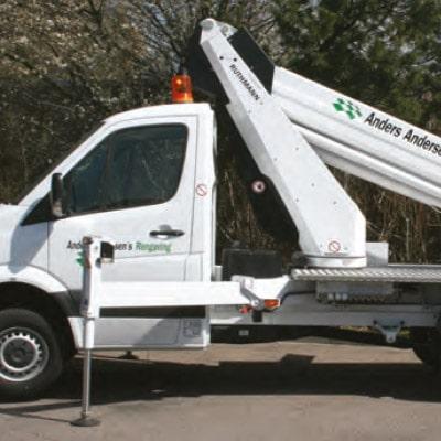 Anders Andersen rengøring Liftbiler