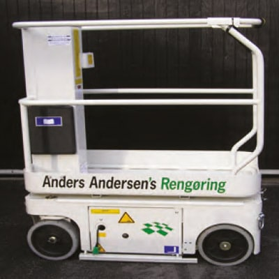 Anders Andersen rengøring Saxlifte