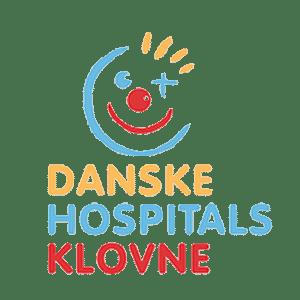 Danske hospitals klovne Logo sponsorate