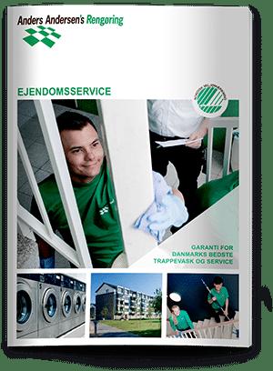 Ejendomsservice brochure