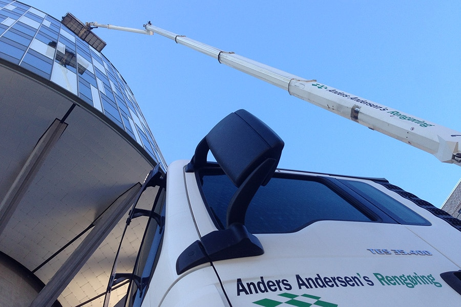 Anders Andersen Rengøring Vinduespolering Erhvervspolering