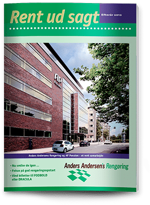 Rent ud sagt magasin -  Efterår 2012
