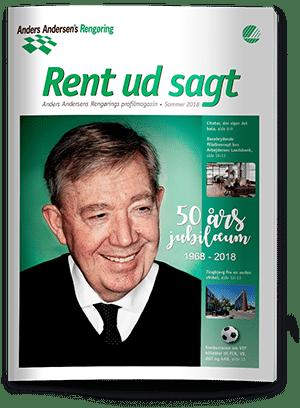 Rent ud sagt magasin - Sommer 2018