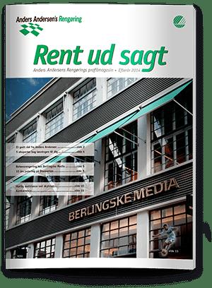 Rent ud sagt magasin -  Efterår 2014