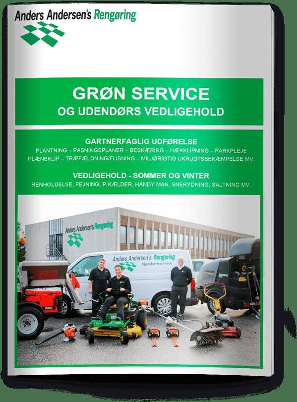 Grøn servie brochure